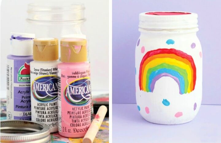 DIY Piggy Bank Mason Jar
