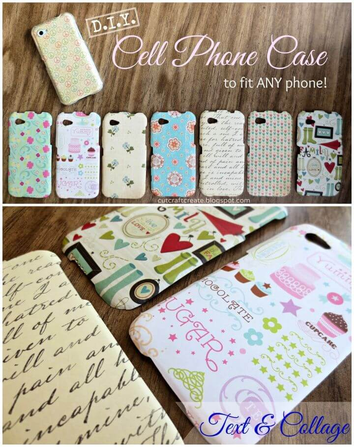 Easy DIY Cell Phone Case Tutorial 1