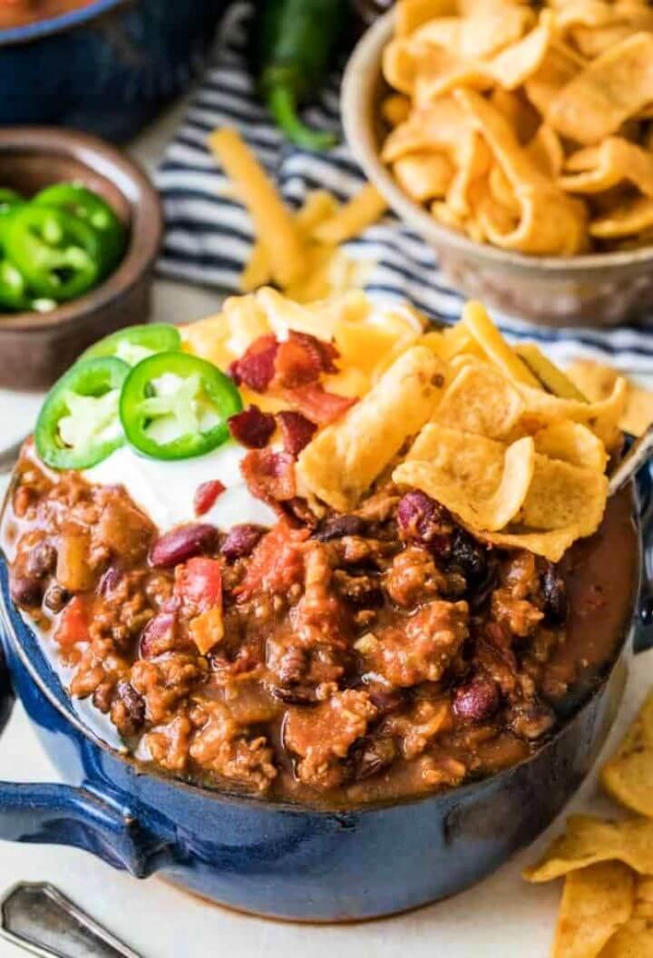 Easy DIY Chili Recipe Tutorial