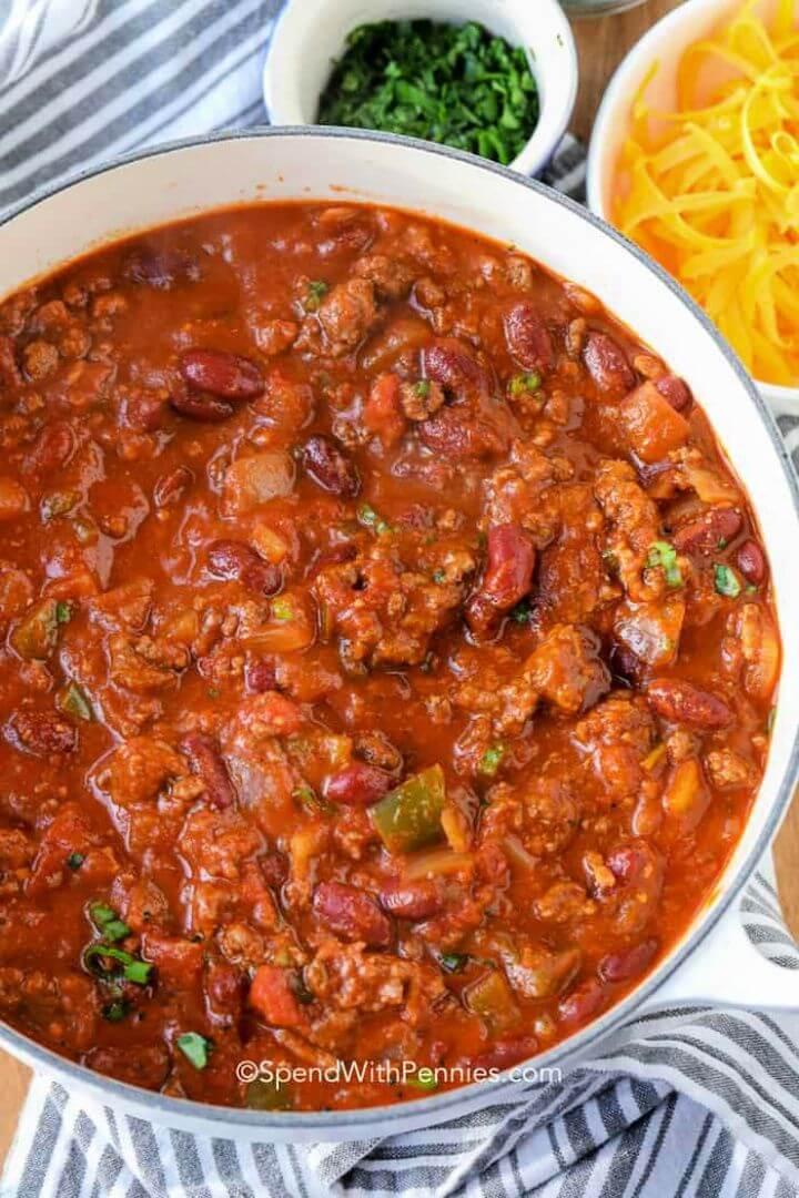 Easy DIY Chili Recipe