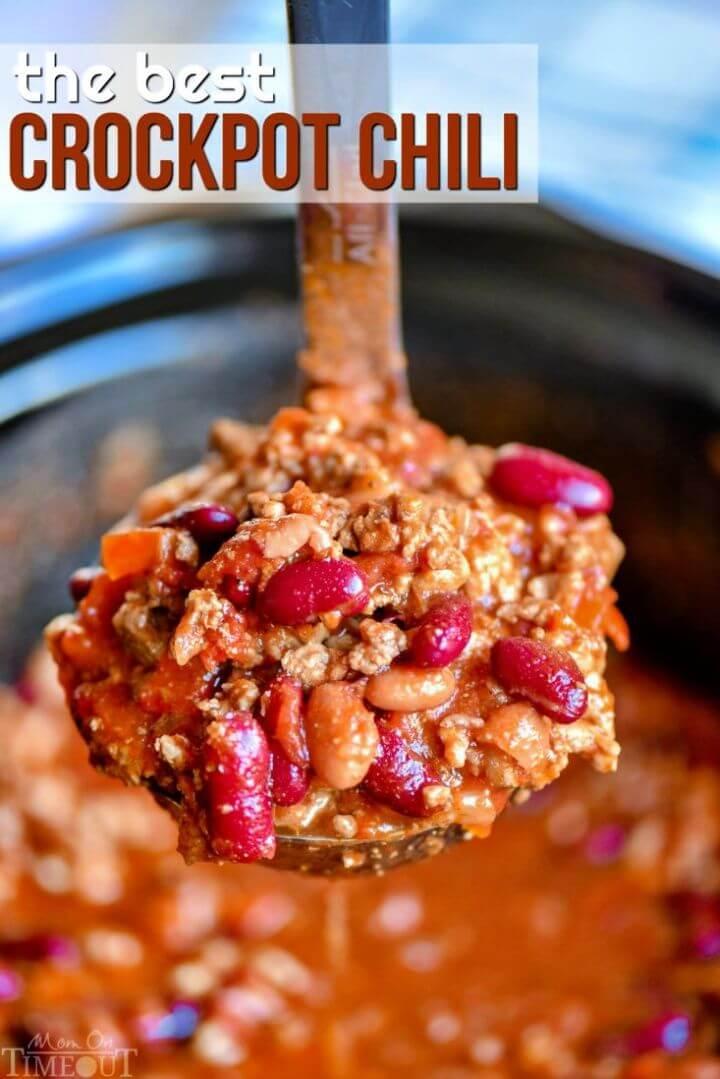 Easy DIY Ultimate Crockpot Chili Recipe