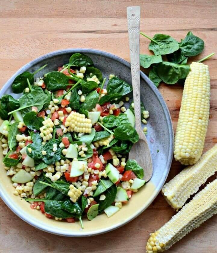 Easy Fresh Corn Salad