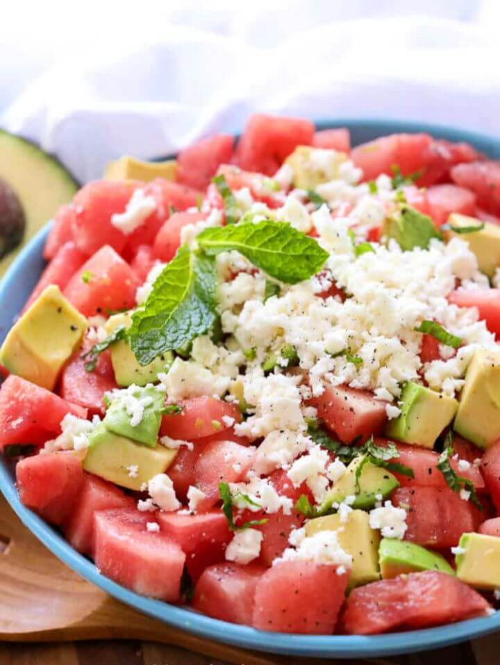 Easy Watermelon Salad