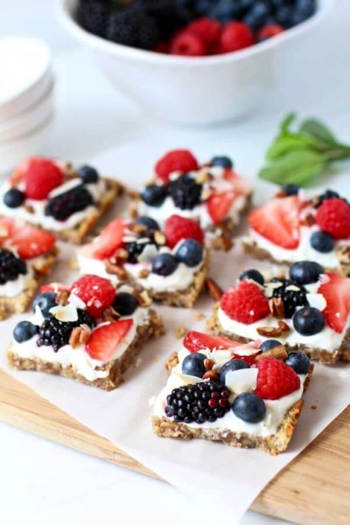 Gluten Free Berry Fruit Pizza