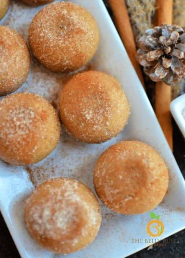 Homemade Churros Bites Churros Muffins