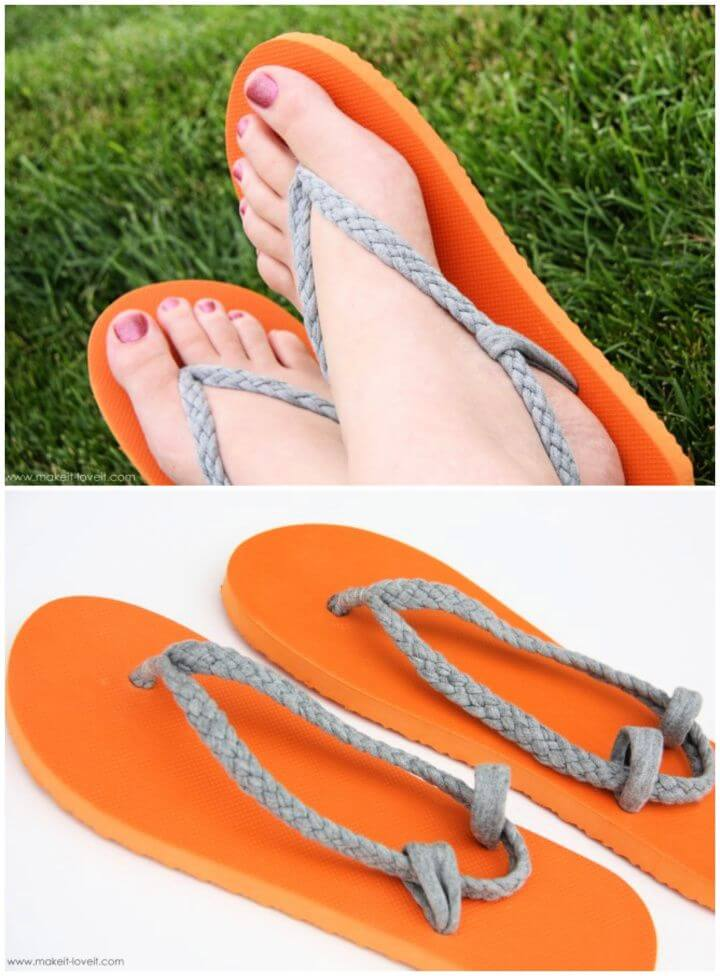 How To Build A DIY Flip Flop Refashion