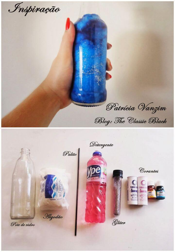 How To Create DIY Bottle Nebula Idea
