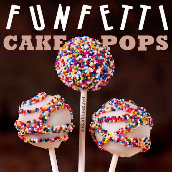 How To DIY Funfetti Cake Pops