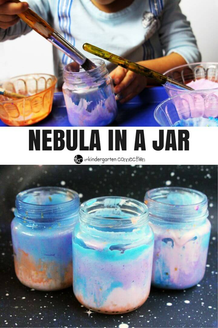 How To DIY Nebula in a Bottle Craft