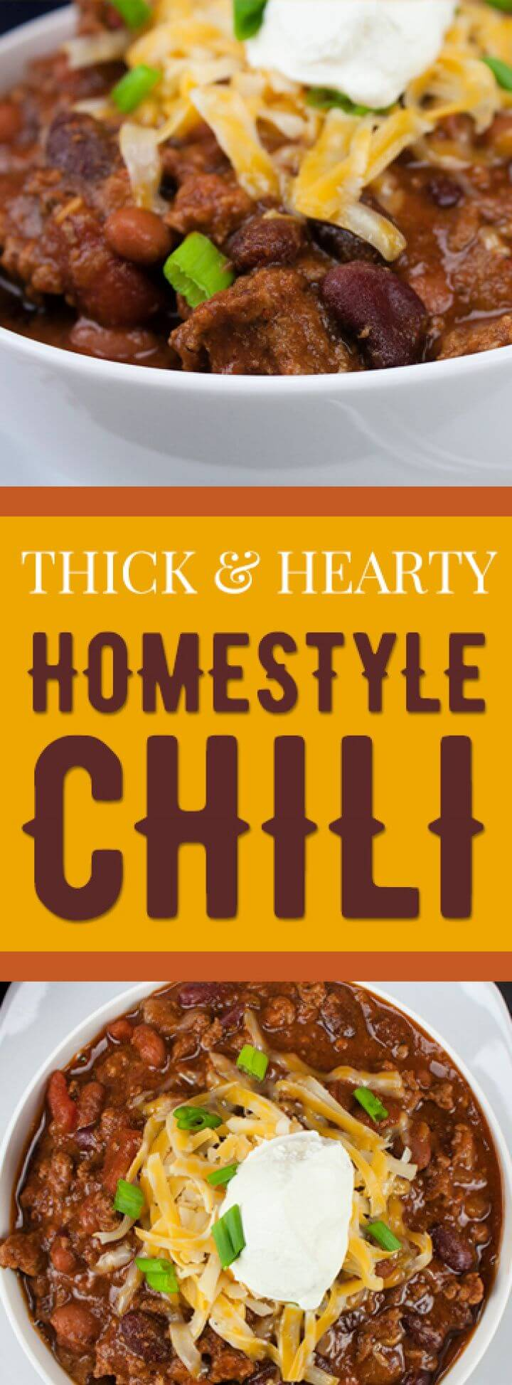 How To DIY Thick and Hearty Homestyle Chili