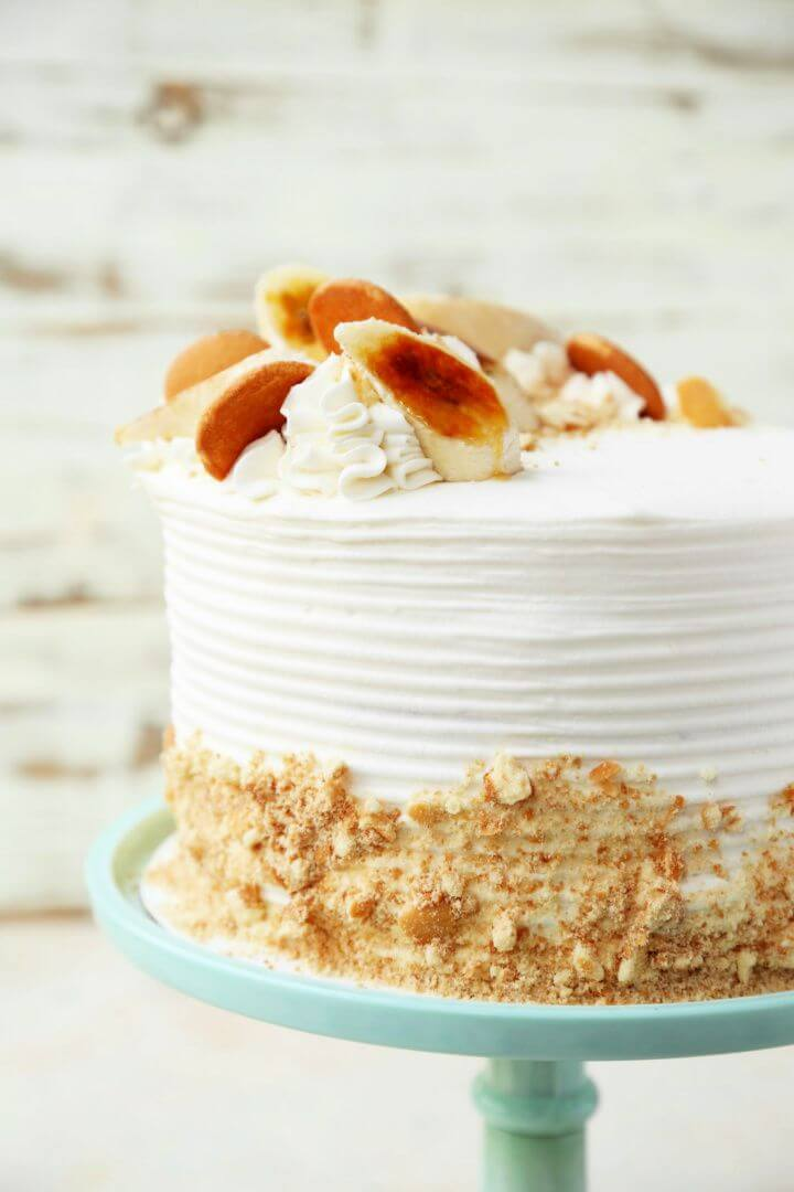 How To Make A DIY Banana Pudding Cake