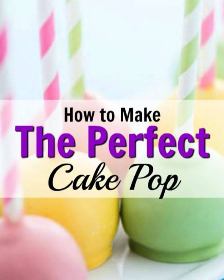 How To Make A DIY Perfect Cake Pop