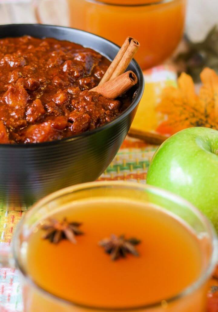 How To Make Paleo And Whole30 Apple Cider Chili