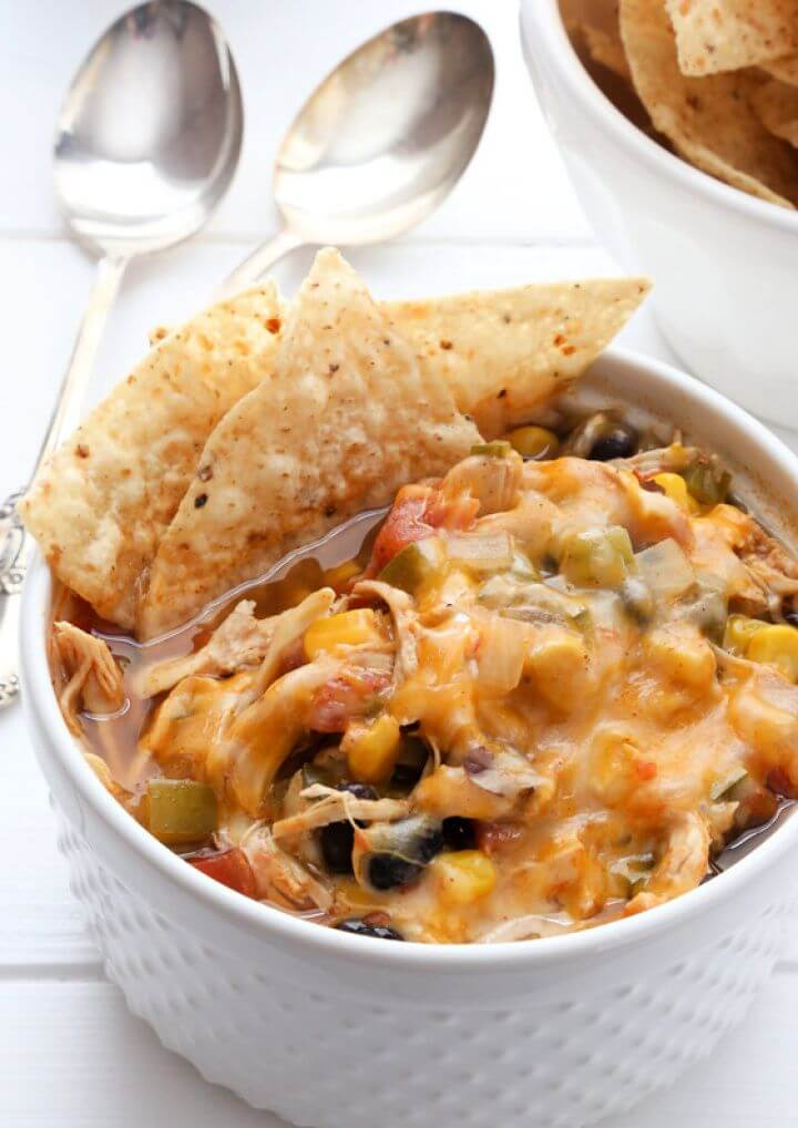 How To Slow Cooker Black Bean Taco Chili
