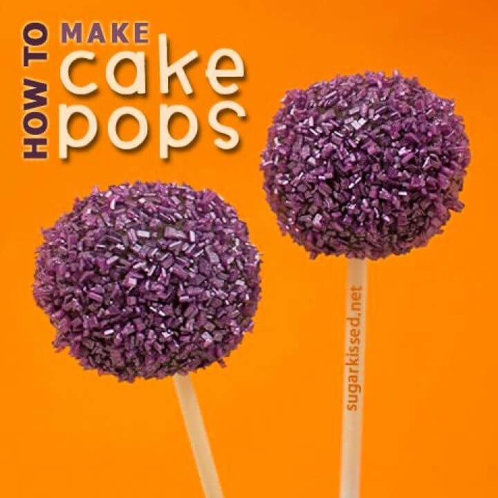 How to Make Cake Pops Step By Step Tutorial