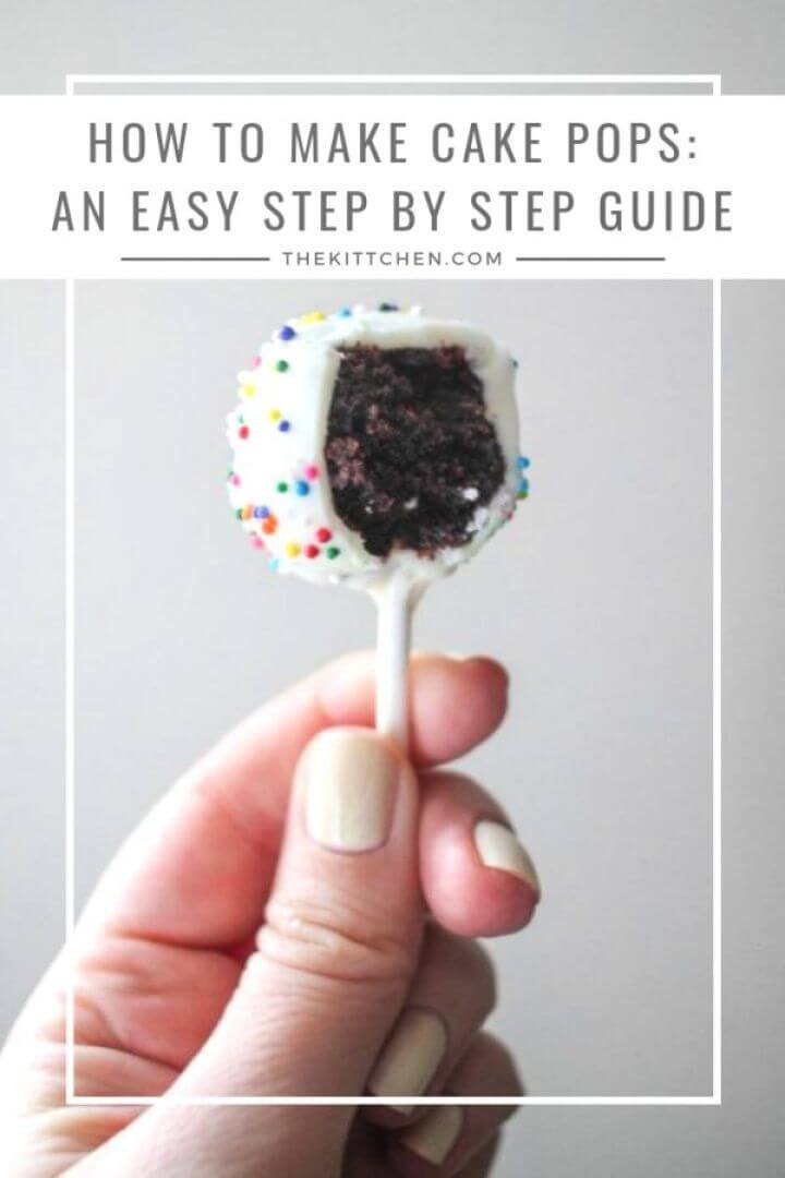 How to Make Your Own DIY Cake Pops