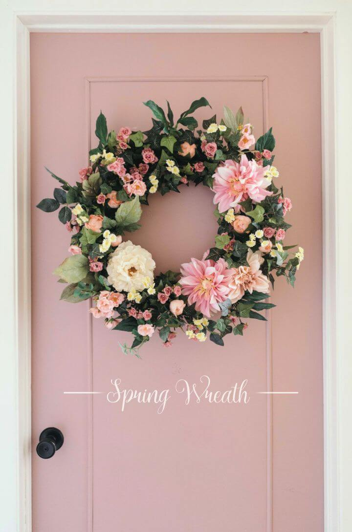 How to Make a DIY Artificial Wreath