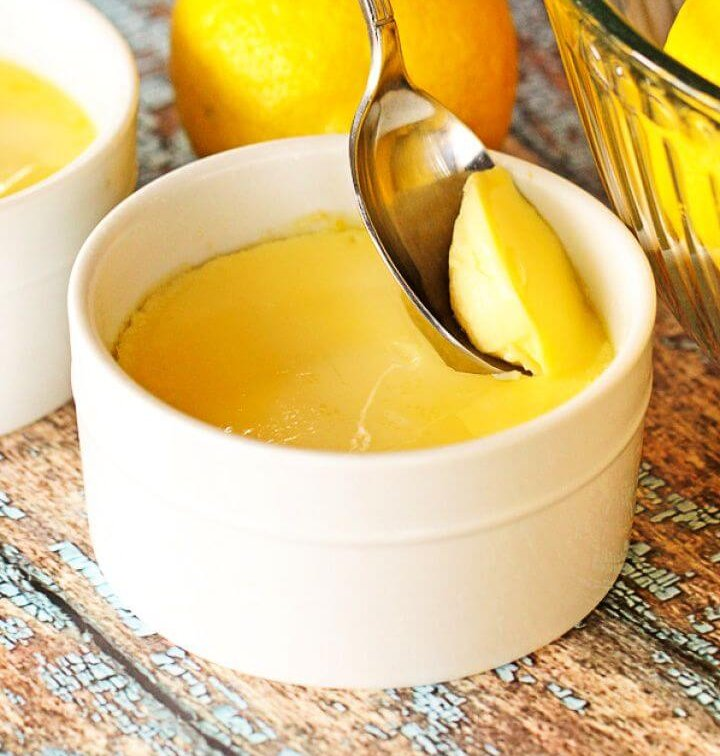 Instant Pot Lemon Custard Cups