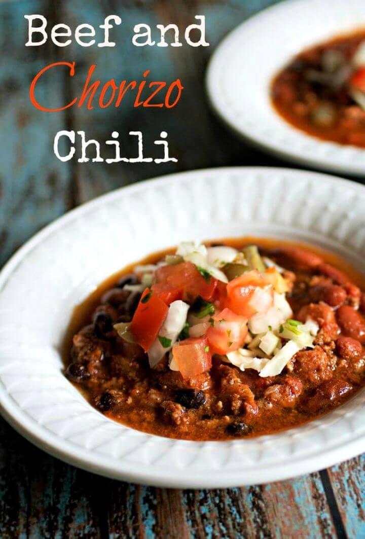 Make A DIY Beef And Chorizo Chili