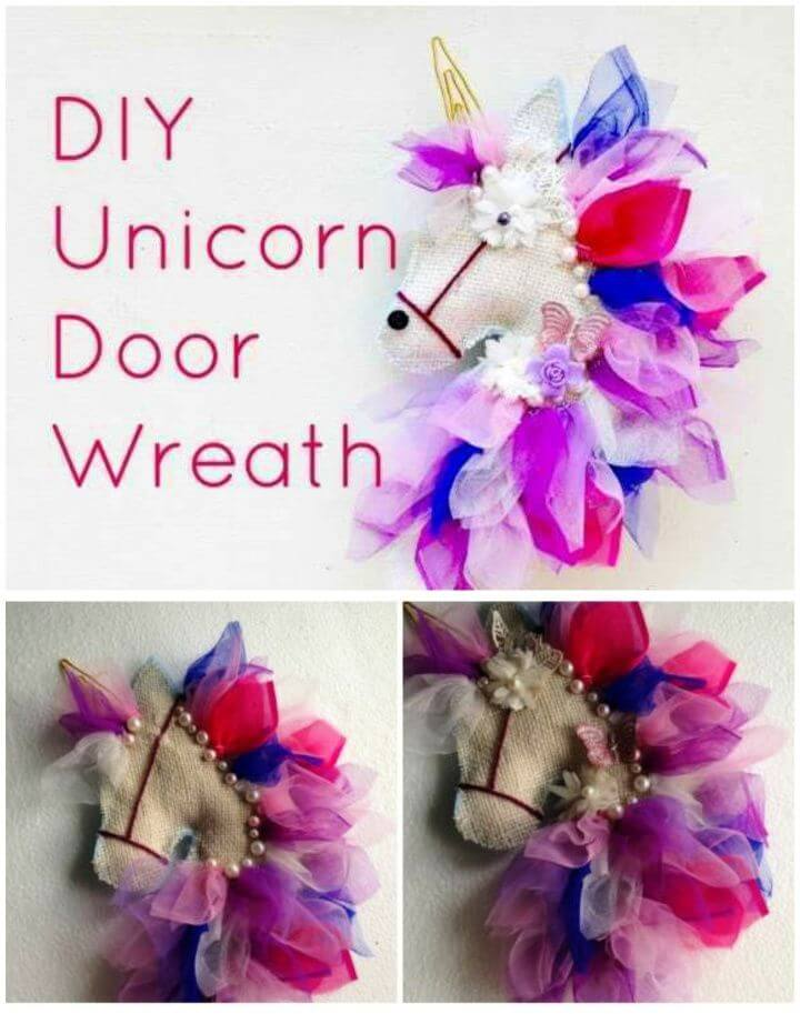 Make A DIY Unicorn Wreath