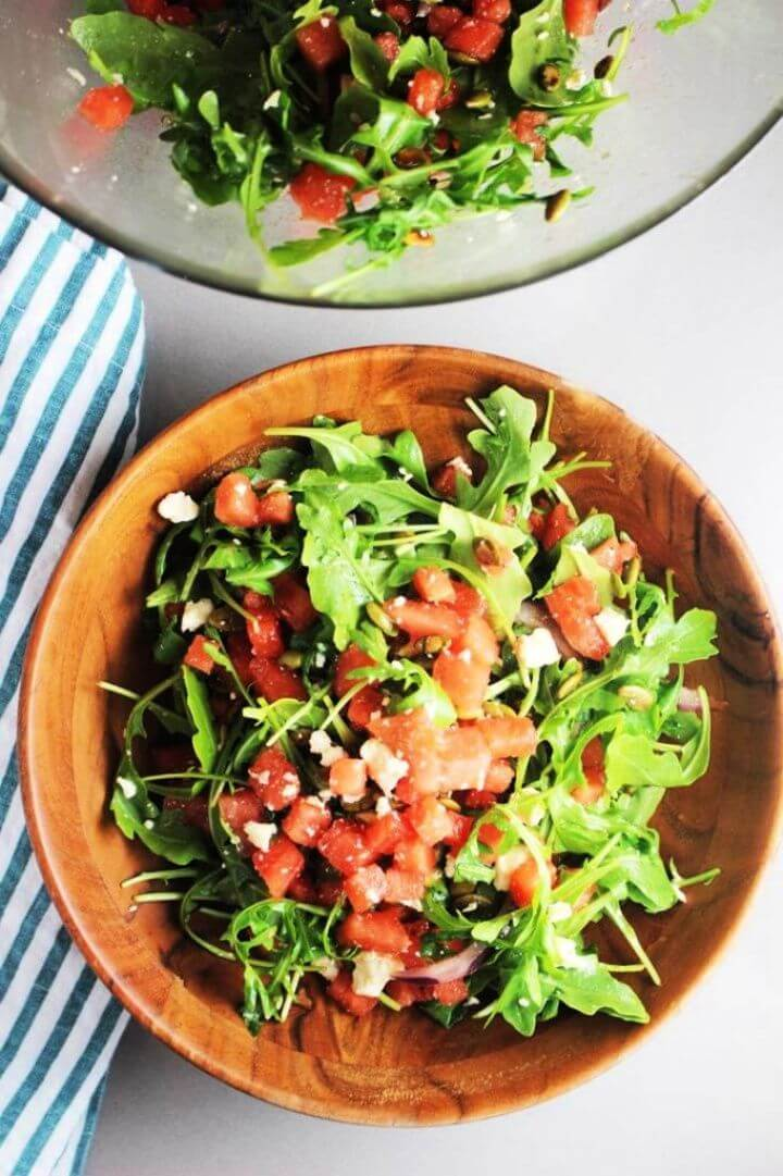 Mexican Watermelon Salad Recipe