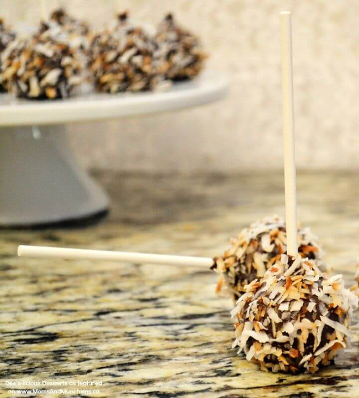 Super DIY German Chocolate Cake Pops