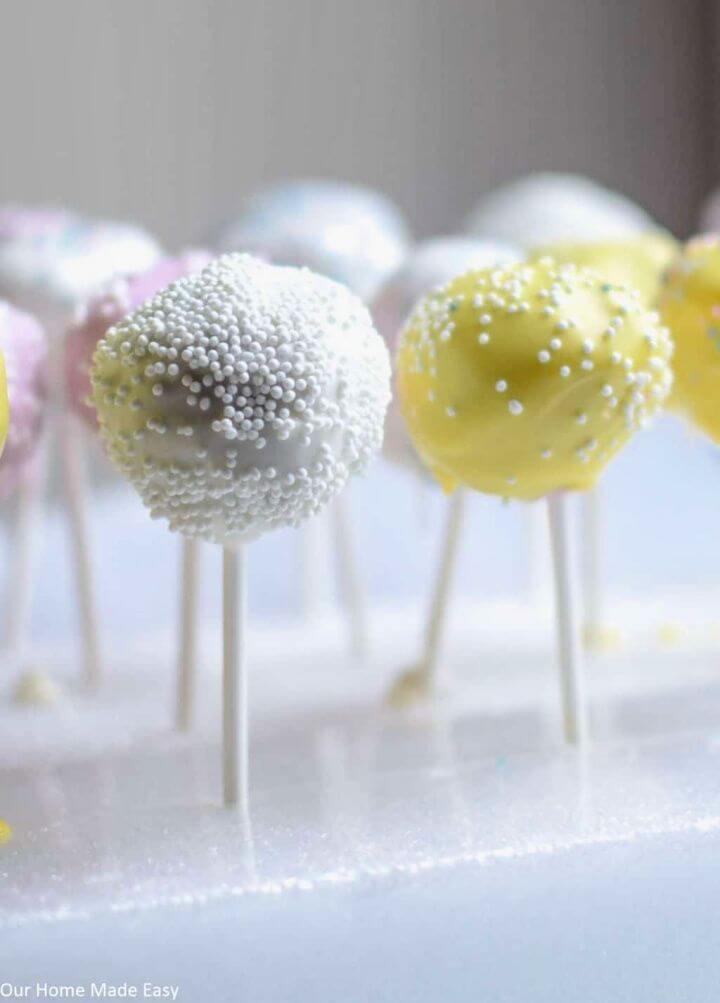 Super Easy DIY Cake Pops Tutorial