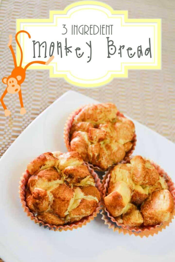 3 Ingredient Monkey Bread