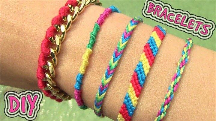 5 Easy DIY Bracelet Projects
