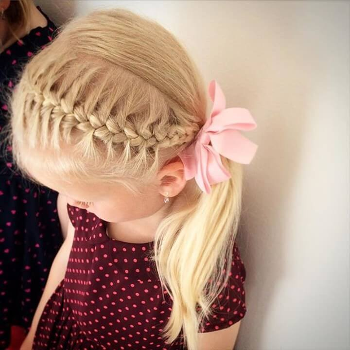 Adorable Toddler Girl Hairstyle