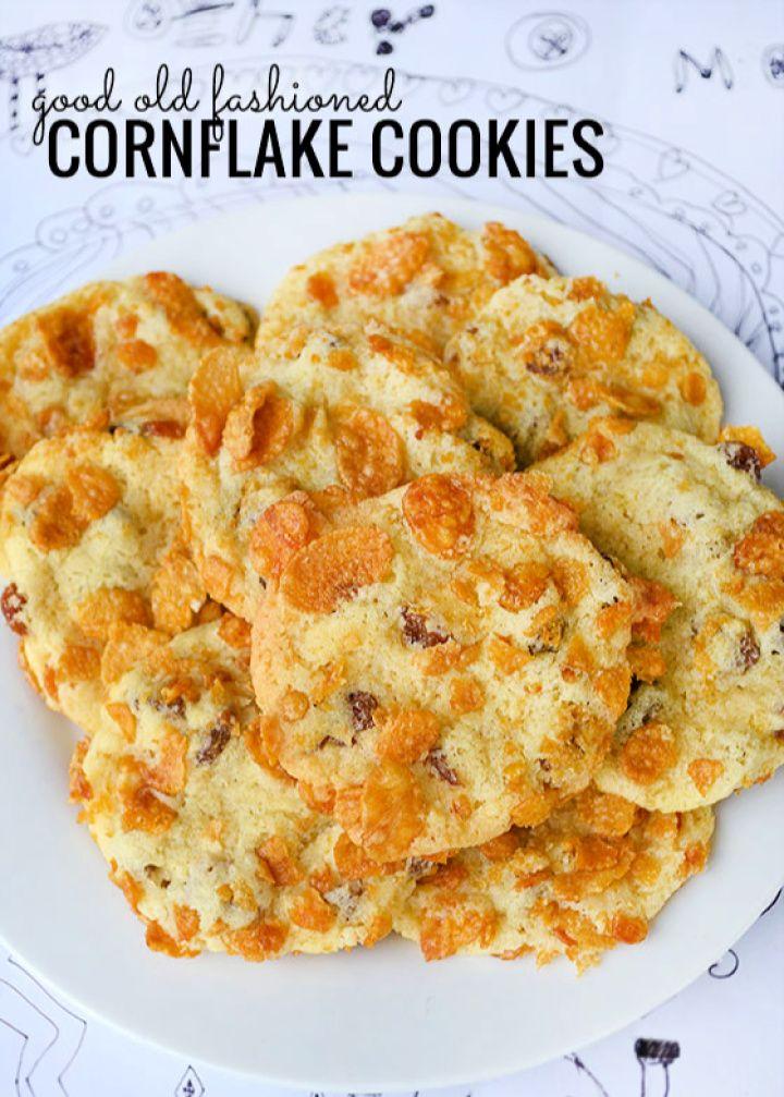 Best Cornflake Cookies