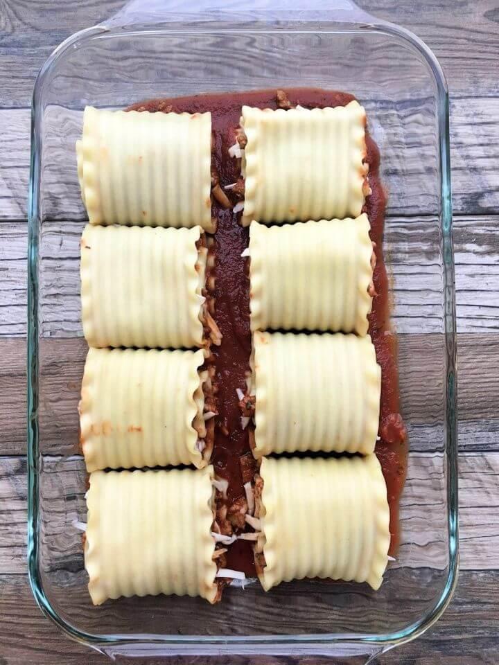 Best DIY Ground Turkey Lasagna Rolls 2