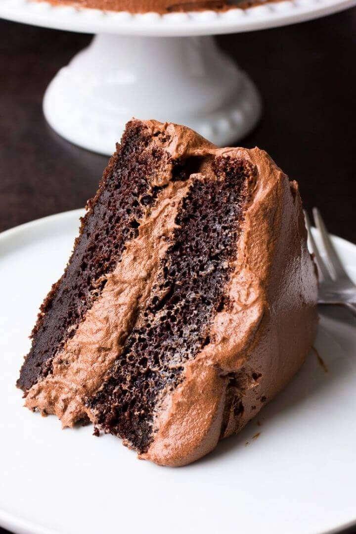 Best DIY Vegan Chocolate Cake
