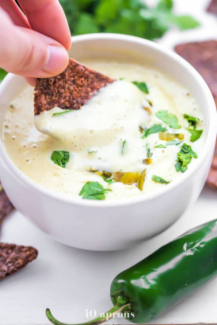 Best DIY Vegan Queso Blanco