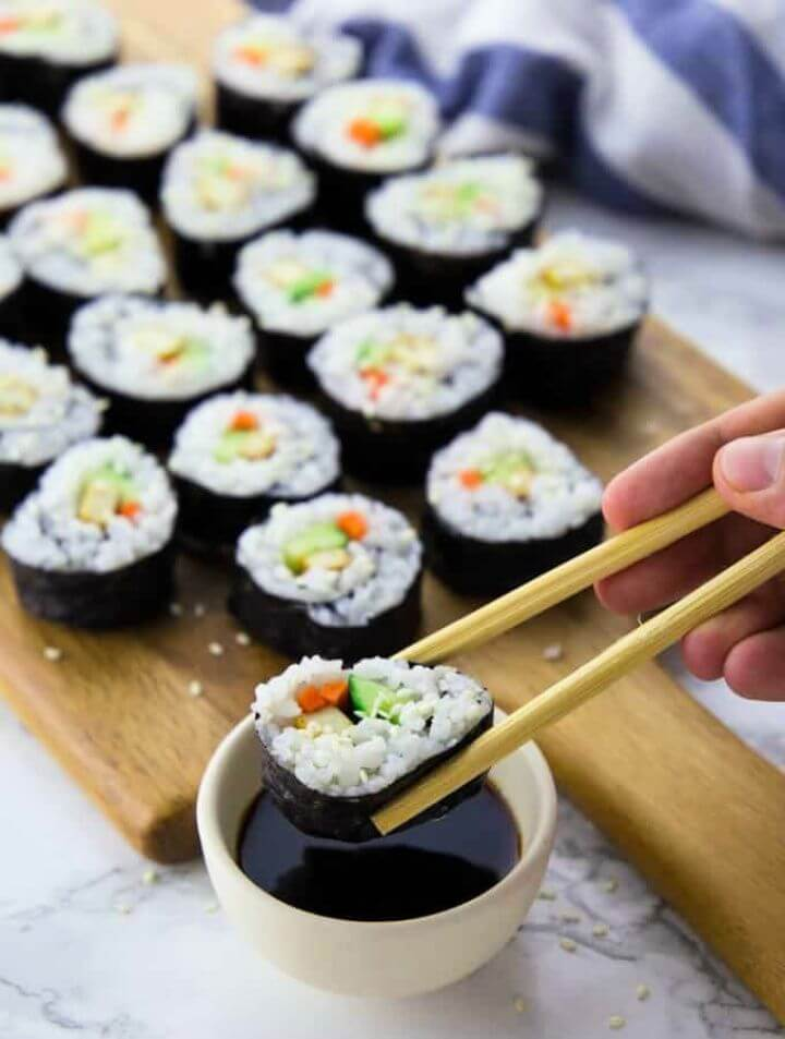 Best DIY Vegan Sushi