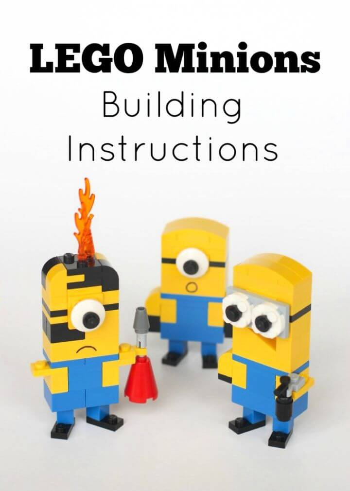 Create A DIY Lego Minions Building Instructions