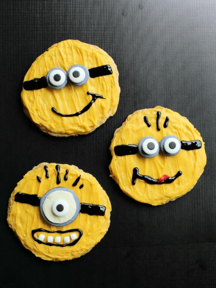 Create A DIY Minion Sugar Cookies