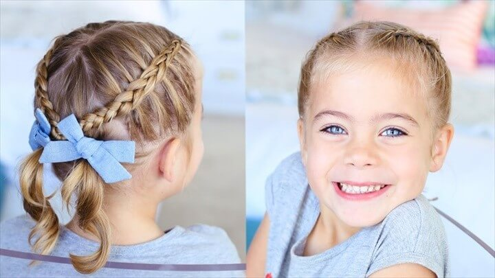 Criss Cross PigtailsToddler Hairstyles Cute Girls Hairstyles