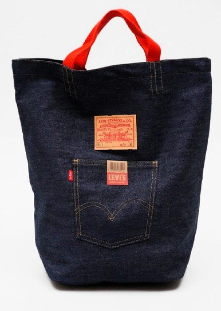 Cute DIY Collaborator From Jeans To Bag