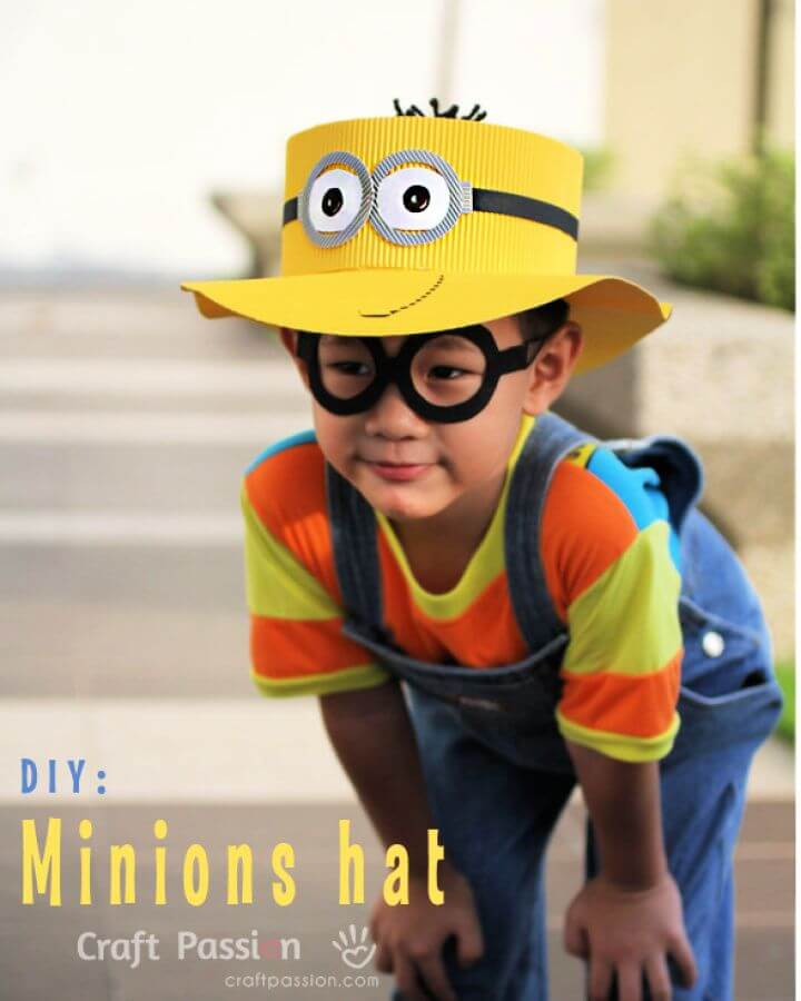 Cute DIY Minions Hat