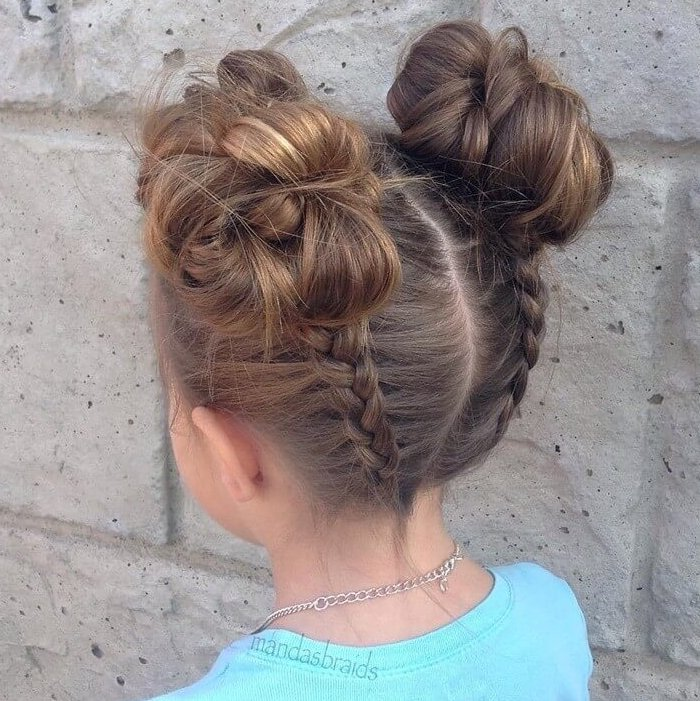 DIY Buns For Toddlers