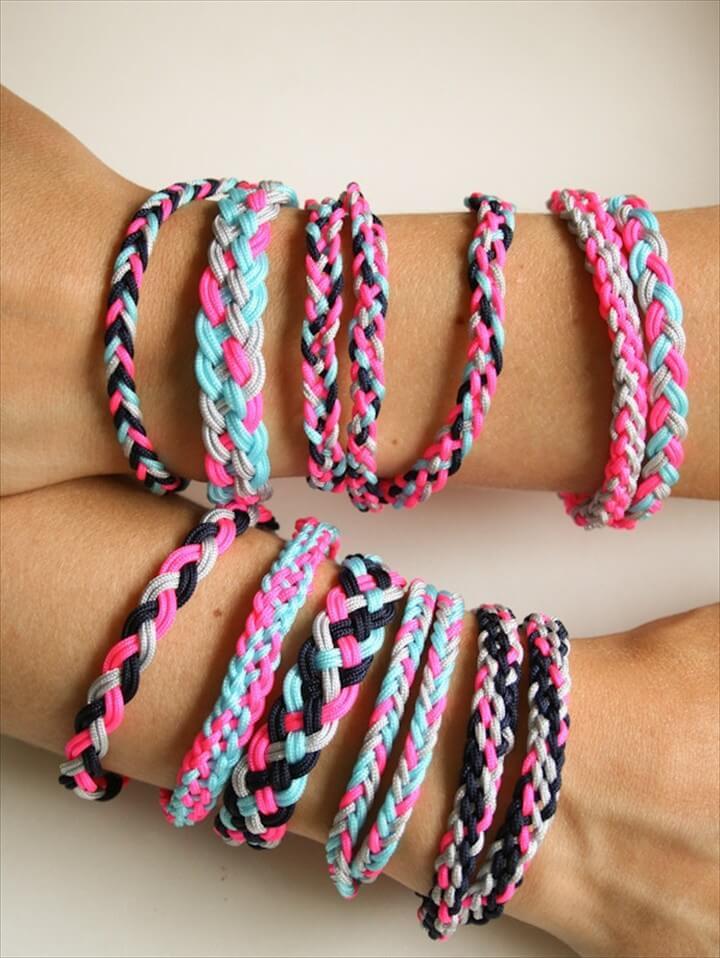 DIY Easy Braided Friendship Bracelet Tutorials