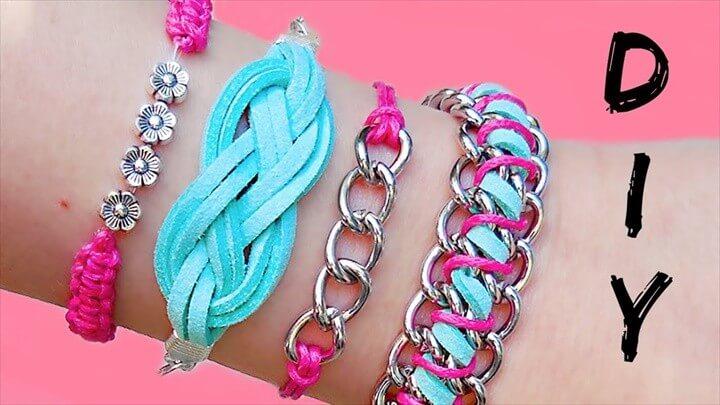 DIY Friendship Bracelets Tutorial