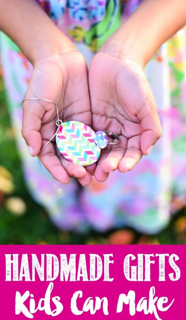 DIY Handmade Gifts Kids Can Make