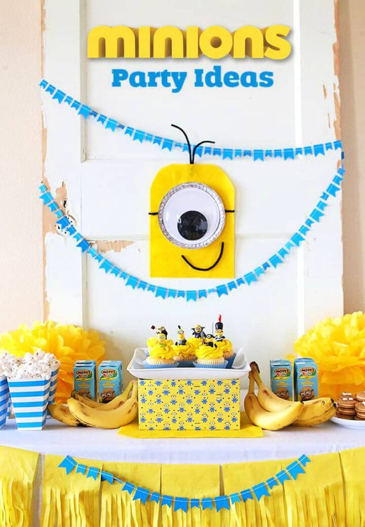 DIY Homemade Minions Party Ideas