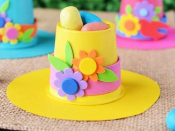 DIY Springtime Bonnets K Cup Crafts
