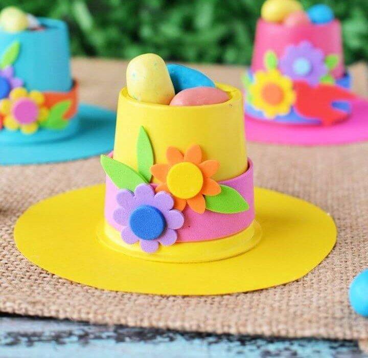 DIY Springtime Bonnets K Cup Crafts