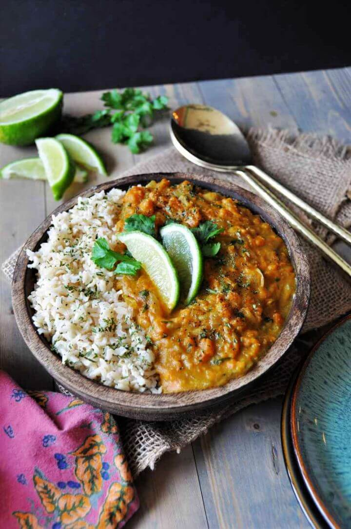 DIY Sweet Potato Coconut Curry Recipe