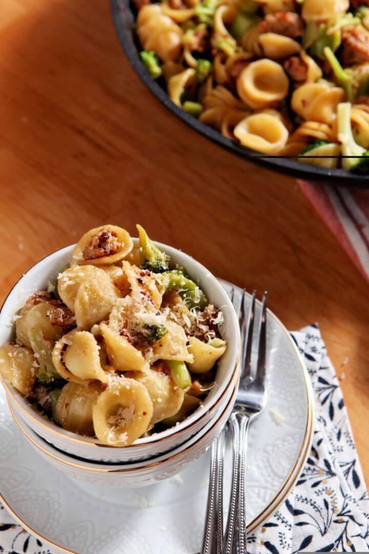 DIY Turkey and Broccoli Orecchiette 2