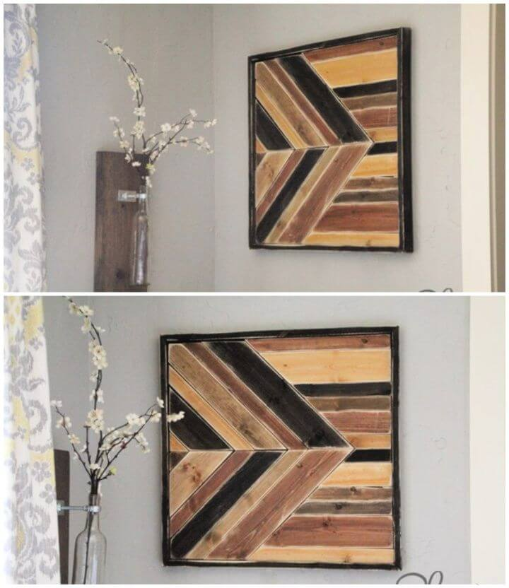 DIY Wall Art Pallet Design